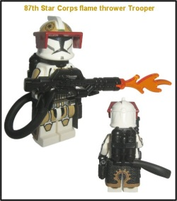 87th Star Corps flame thrower Trooper