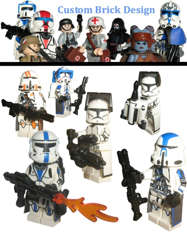 Neue Lego Star Wars custom Clone Trooper